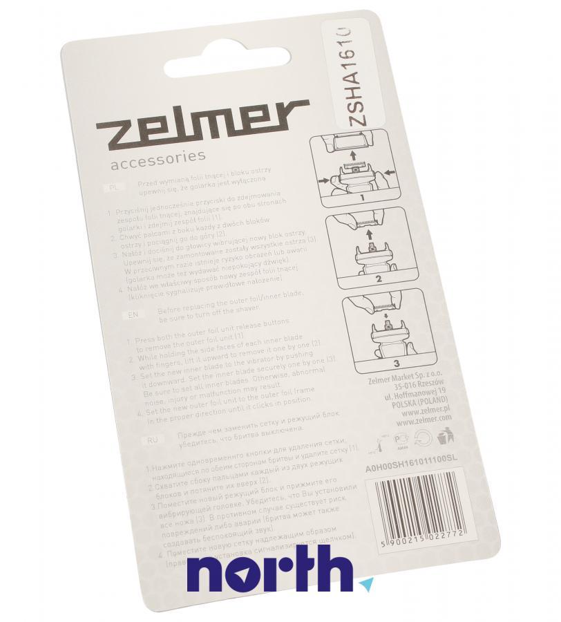 Folia + blok ostrzy + noże do golarki Zelmer ZSHA1610 00578556,1