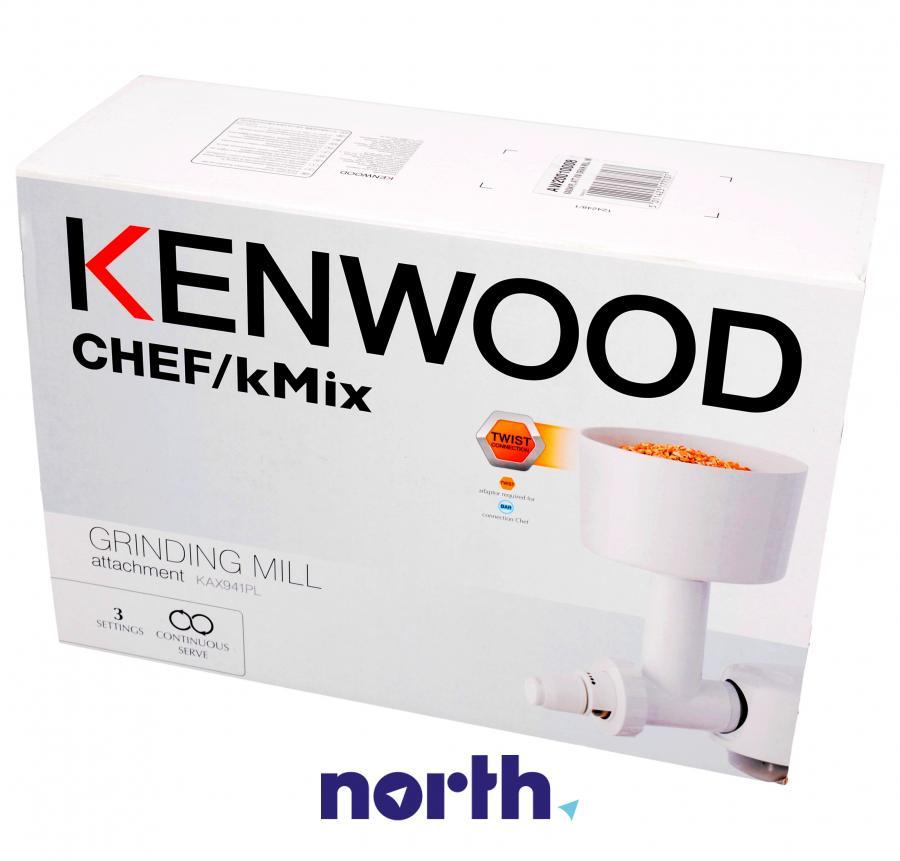 Młynek do ziaren zbóż do robota kuchennego Kenwood KAX941PL AW20010008,4