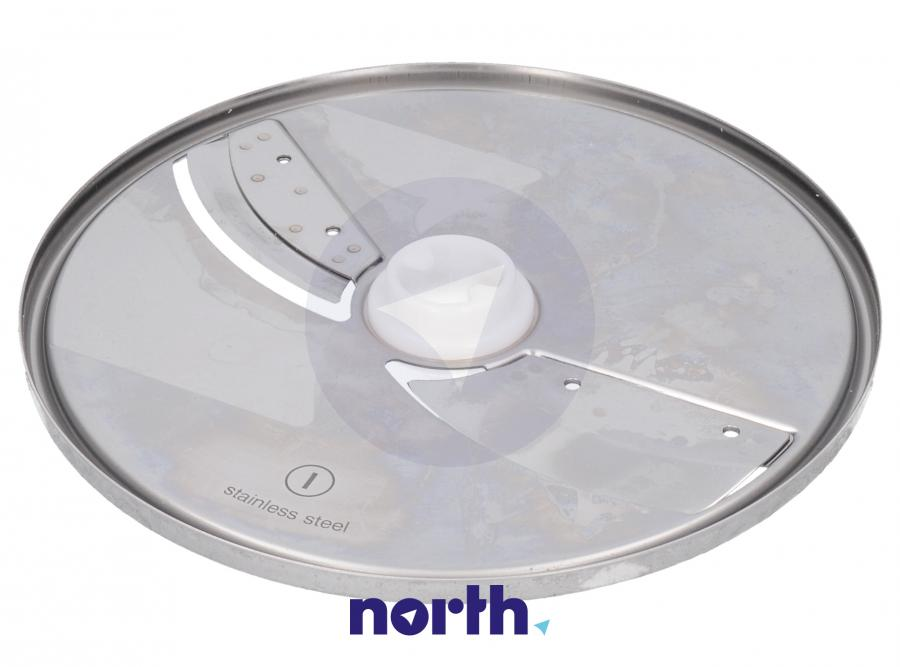 Tarcza dwustronna tnąca na cienkie i grube plastry do robota kuchennego Zelmer 00798164,1