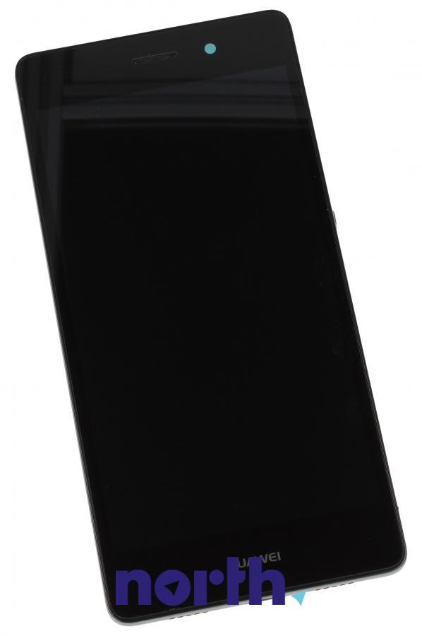 Panel dotykowy z wyświetlaczem w obudowie do smartfona Huawei P8 Lite 02350KCC,0