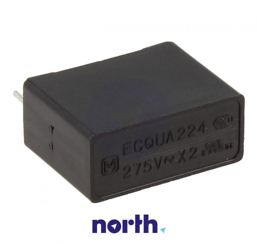 ECQUAAF224KA 0,22UF275V 220NF Kondensator przeciwzakłóceniowy MKP-X2 RM=15 ROHS PANASONIC,2