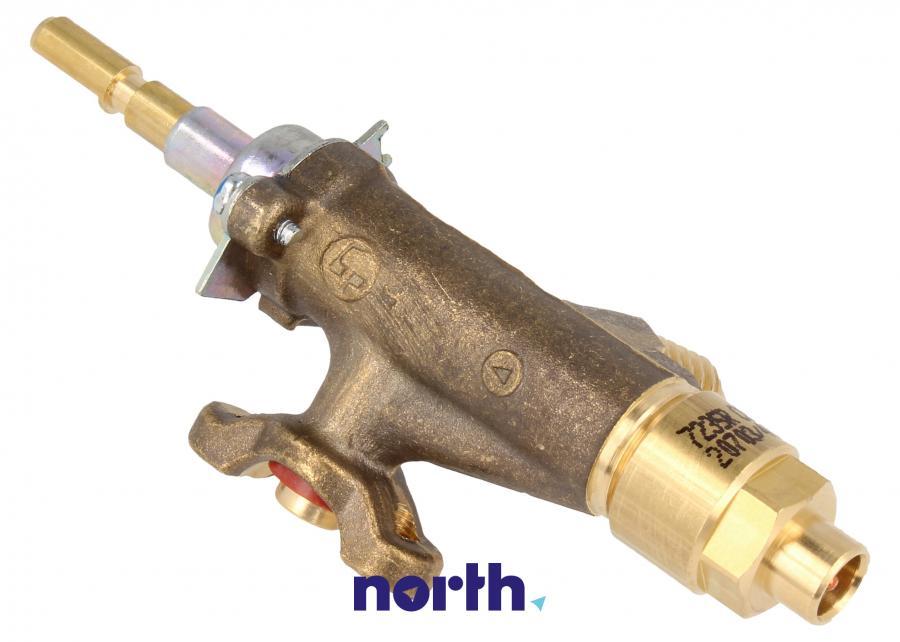 Zawór gazu palnika do kuchenki Smeg 957330674,2