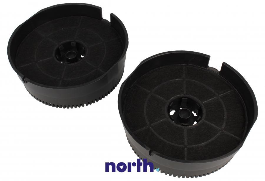 Filtr węglowy w obudowie okrągły do okapu Whirlpool FKS380,0
