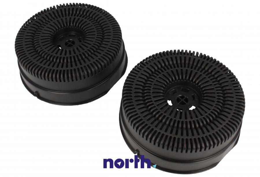 Filtr węglowy w obudowie okrągły do okapu Whirlpool FKS380,1