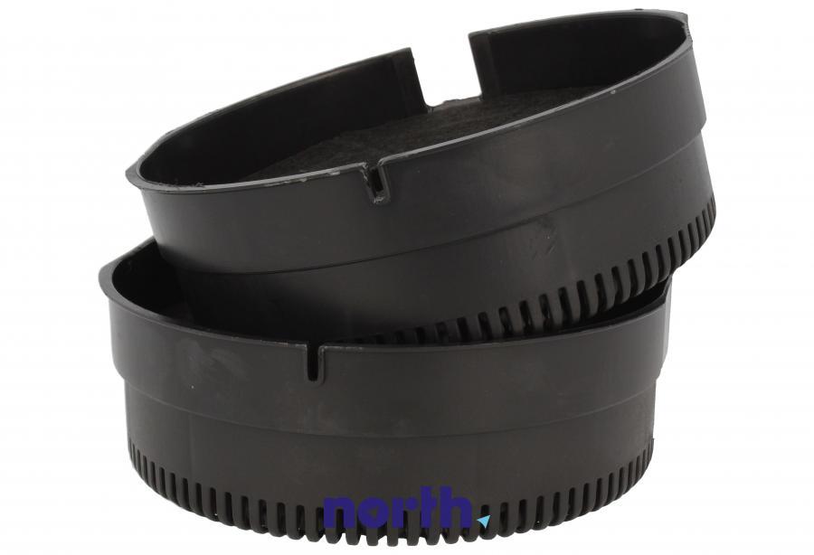 Filtr węglowy w obudowie okrągły do okapu Whirlpool FKS380,2