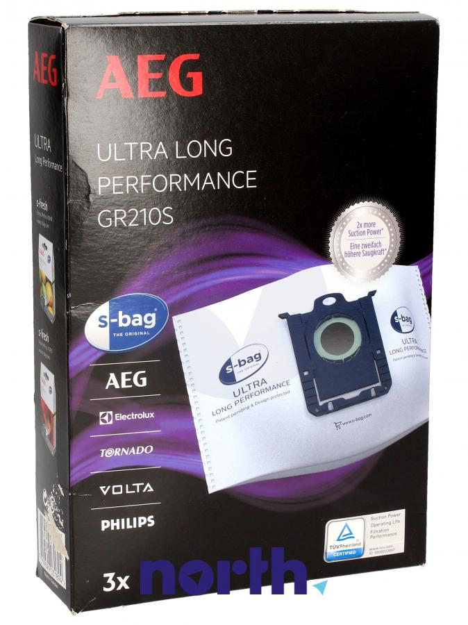 Worki S-Bag Ultra Long Performance GR210S 3szt. do odkurzacza Electrolux,0