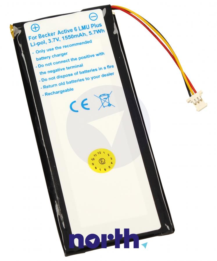 Akumulator li-po 3.7V 1550mAh do nawigacji Becker,0