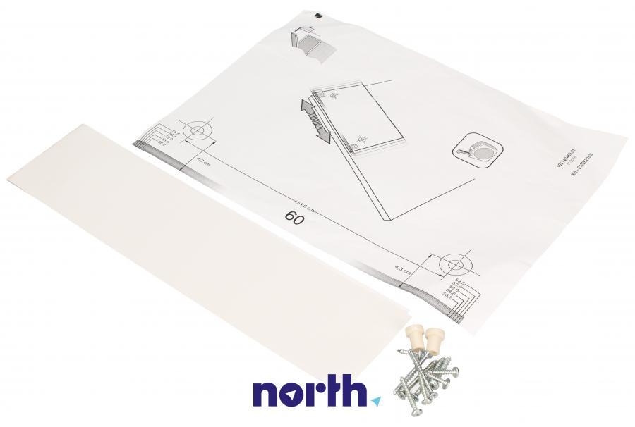 Zestaw montażowy drzwi pod zabudowę do zmywarki Whirlpool 488000481360,0