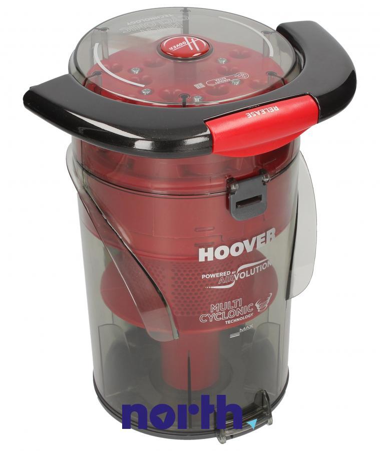 Kompletny pojemnik na kurz z systemem cyklonowym do odkurzacza Hoover 48019051,0