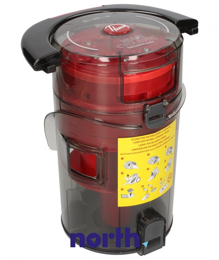 Kompletny pojemnik na kurz z systemem cyklonowym do odkurzacza Hoover 48019051,1