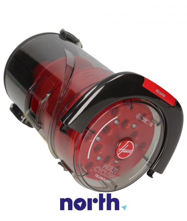 Kompletny pojemnik na kurz z systemem cyklonowym do odkurzacza Hoover 48019051,2