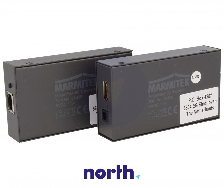 Transmiter + odbiornik sygnału HDMI 08314,6