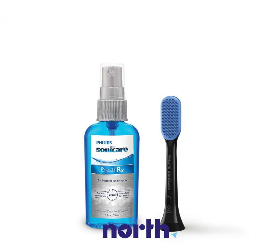 Końcówka i środek do czyszczenia języka do szczoteczki do zębów Philips HX8071/33 HX807133,0