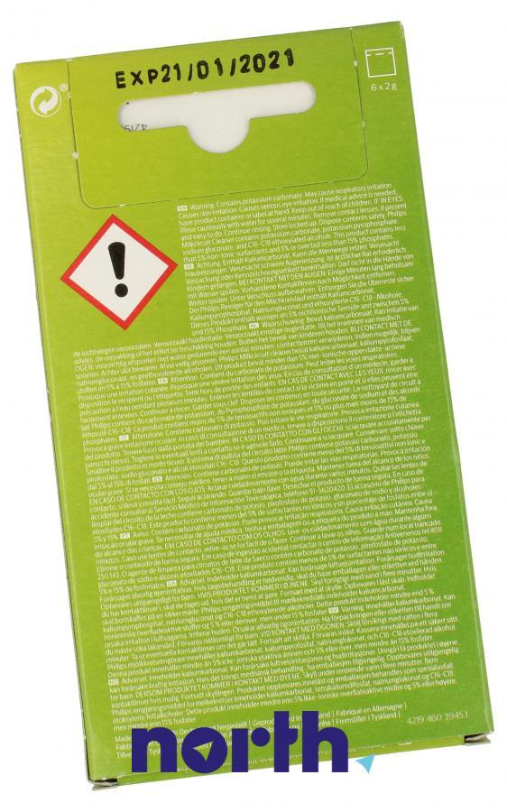 Proszek do czyszczenia obiegu mleka do ekspresu Philips CA670510,2