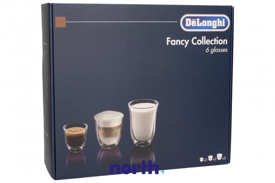 Szklanki do kawy do ekspresu DeLonghi DLSC302 5513296671,1