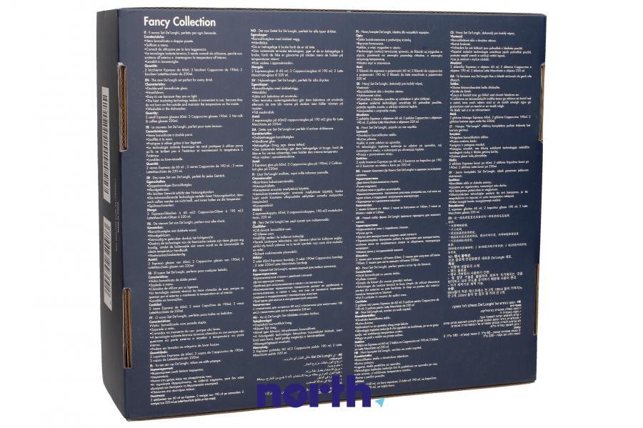 Szklanki do kawy do ekspresu DeLonghi DLSC302 5513296671,2