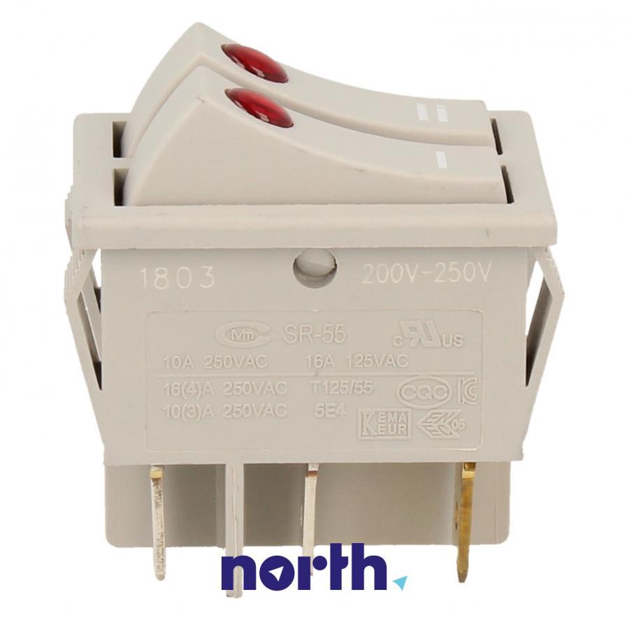 Podwójny włącznik grzałek do grzejnika DeLonghi 5108007800,3
