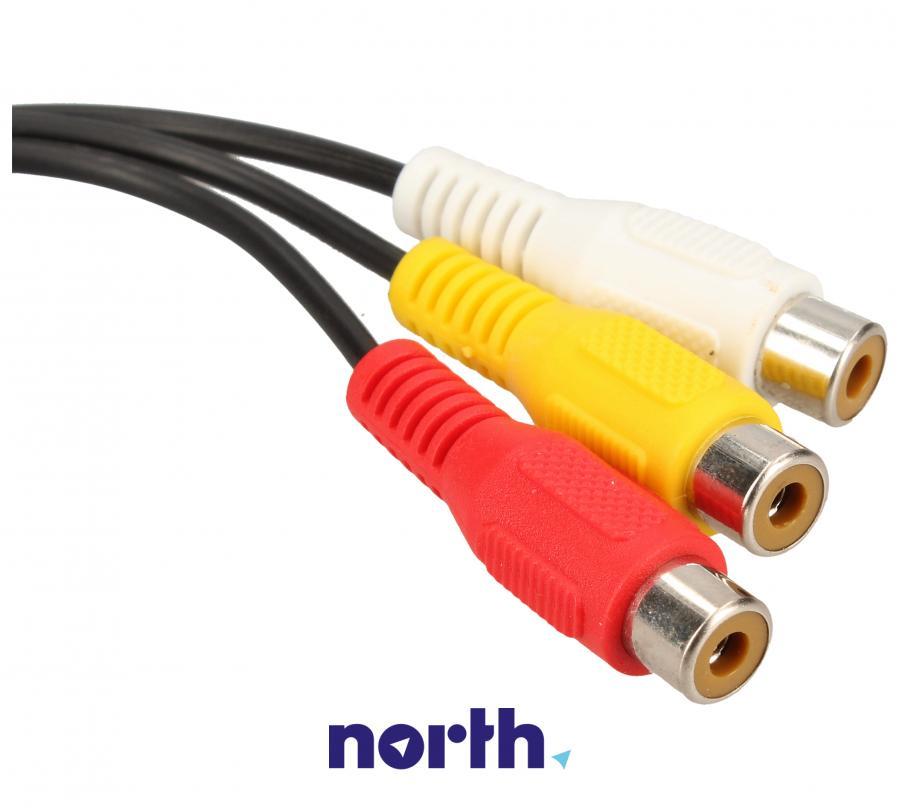 Kabel Jack 3,5mm stereo - CINCH x3 20cm COM,2