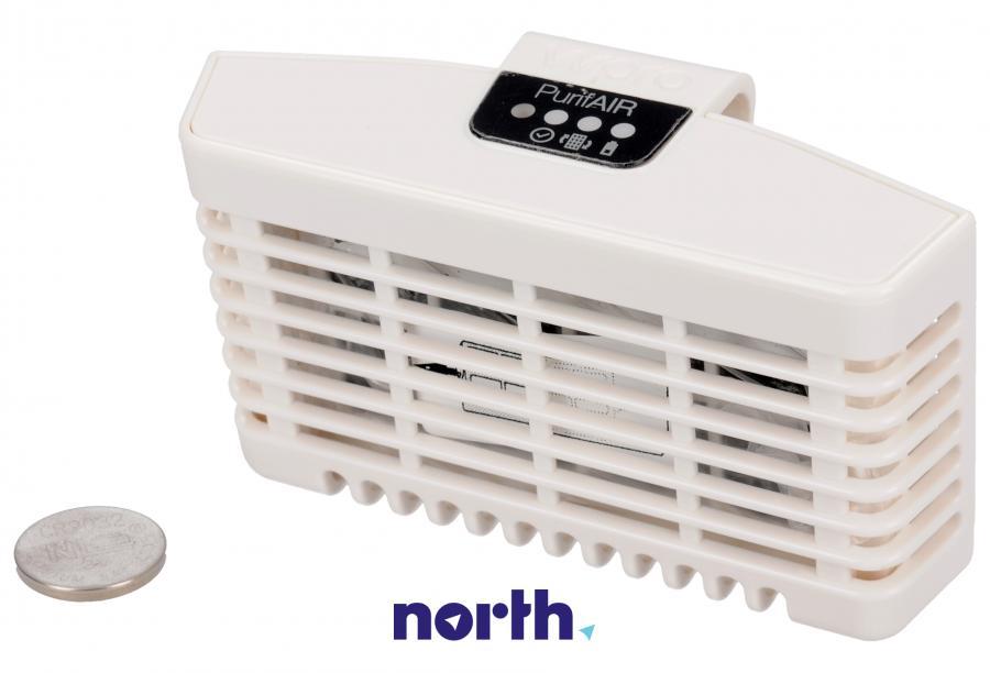 Filtr powietrza z obudową do lodówki Whirlpool 484000008928,0
