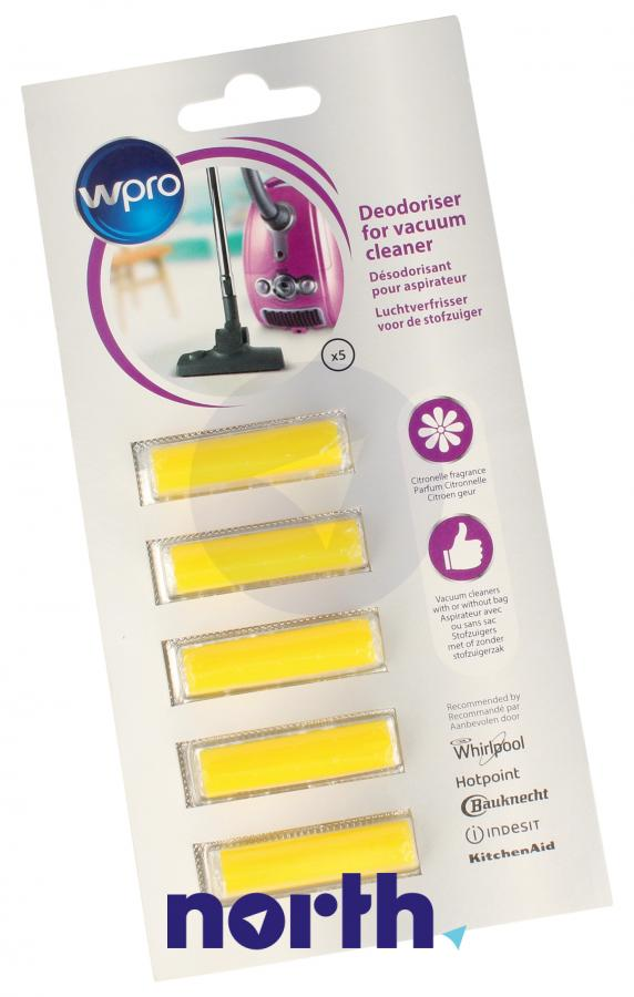 Wkład zapachowy cytrynowy 5szt. Wpro ACT050 do odkurzacza,0