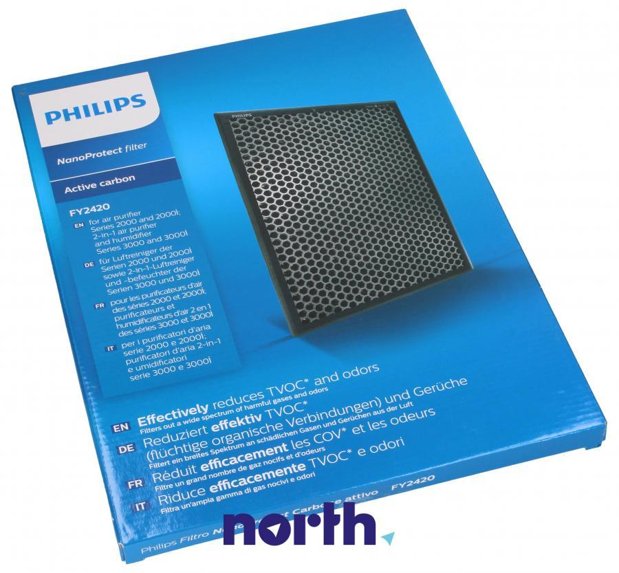 Filtr węglowy aktywny do oczyszczacza powietrza Philips FY2420/30 FY2420/30,0