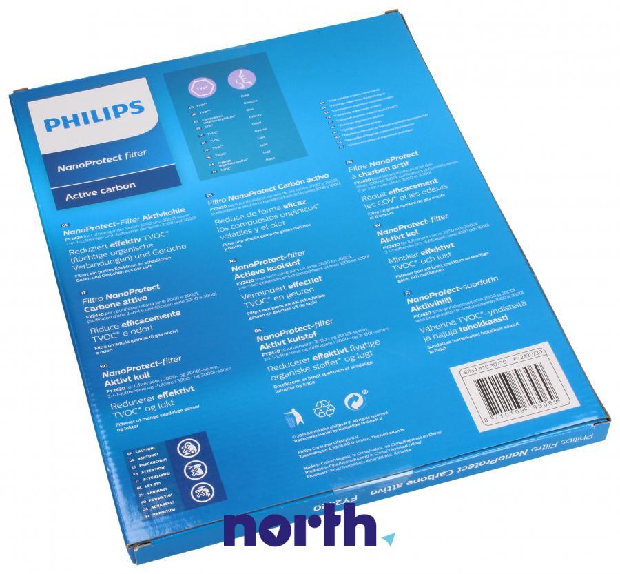 Filtr węglowy aktywny do oczyszczacza powietrza Philips FY2420/30,1