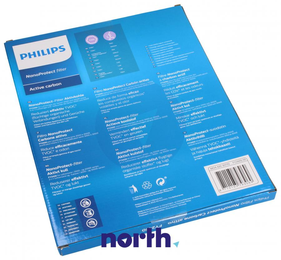 Filtr węglowy aktywny do oczyszczacza powietrza Philips FY2420/30 FY2420/30,1