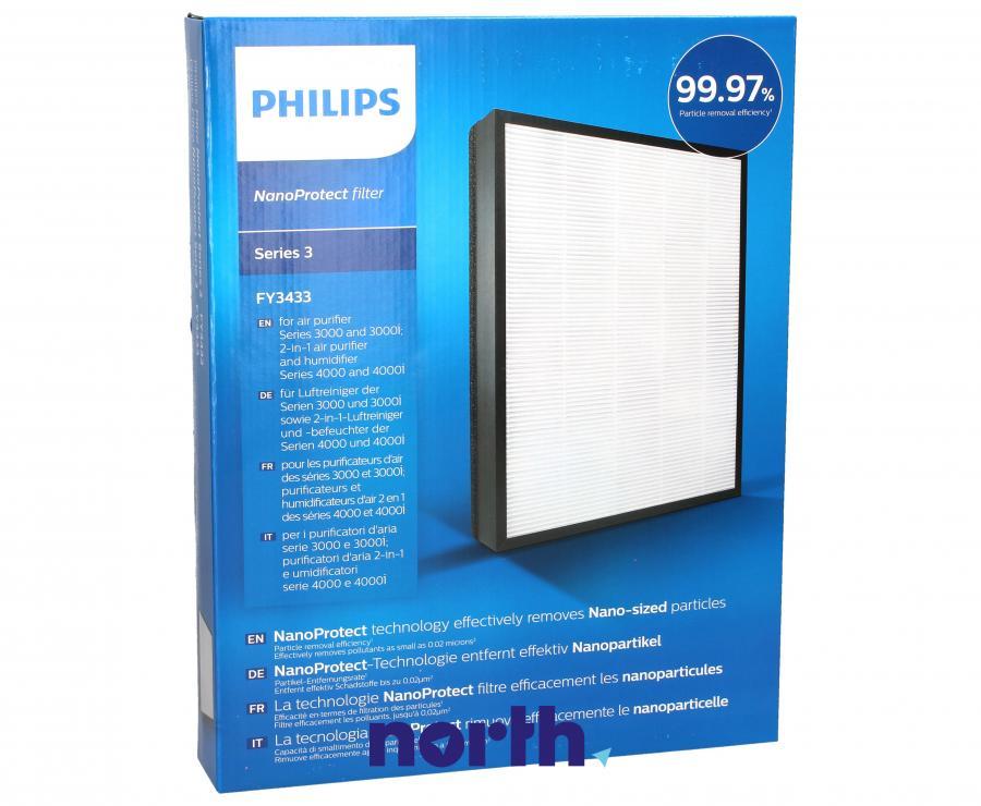 Filtr HEPA do oczyszczacza powietrza Philips FY3433/10,0