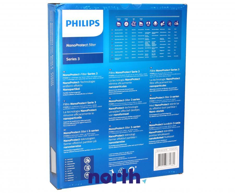 Filtr HEPA do oczyszczacza powietrza Philips FY3433/10,4