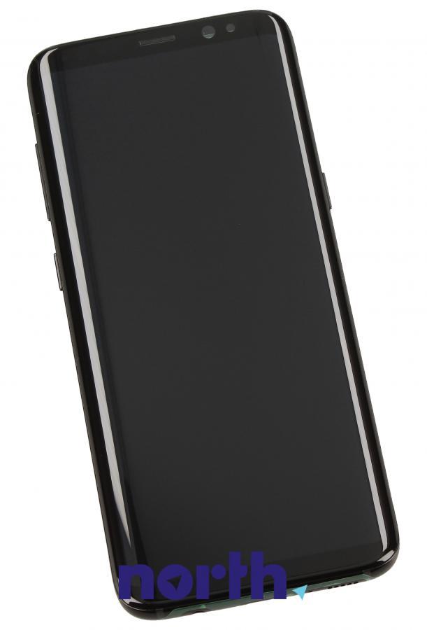 Panel dotykowy z wyświetlaczem w obudowie do smartfona Samsung GH9720457A,0