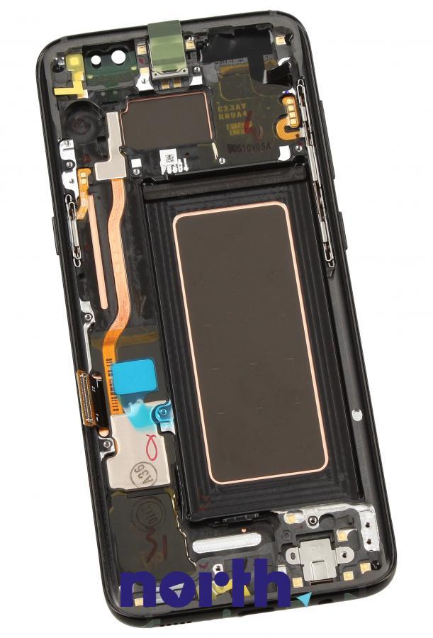 Panel dotykowy z wyświetlaczem w obudowie do smartfona Samsung GH9720457A,1