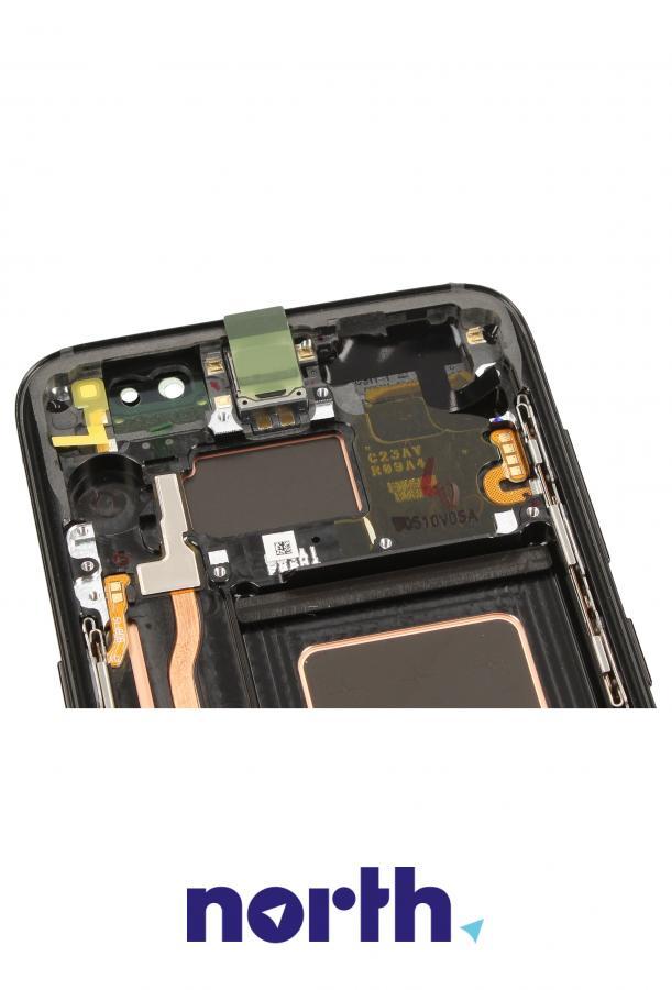 Panel dotykowy z wyświetlaczem w obudowie do smartfona Samsung GH9720457A,2