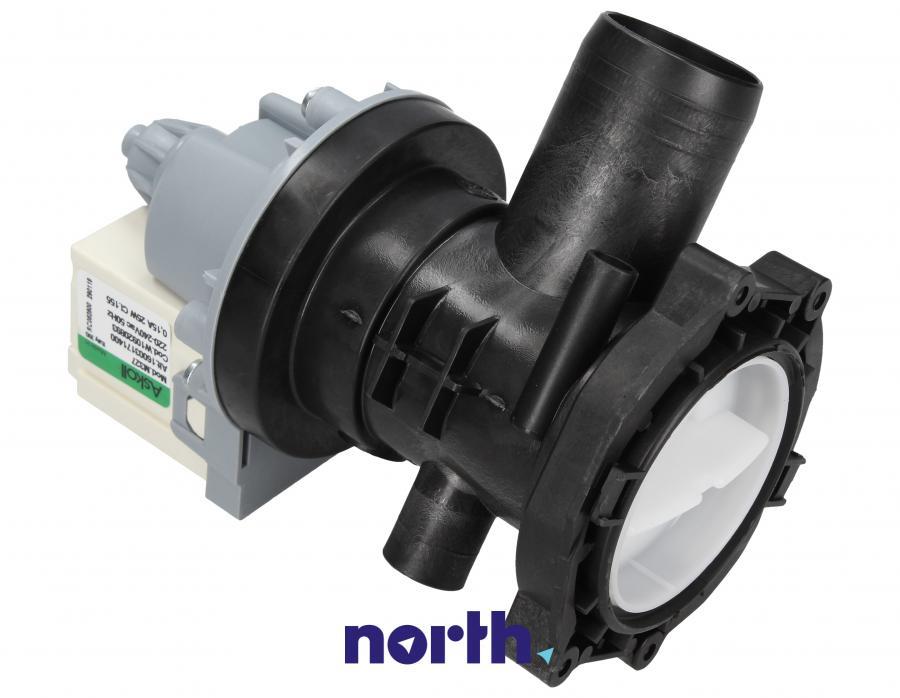 Pompa odpływowa kompletna (silnik + obudowa) do pralki Whirlpool 481010920893,0