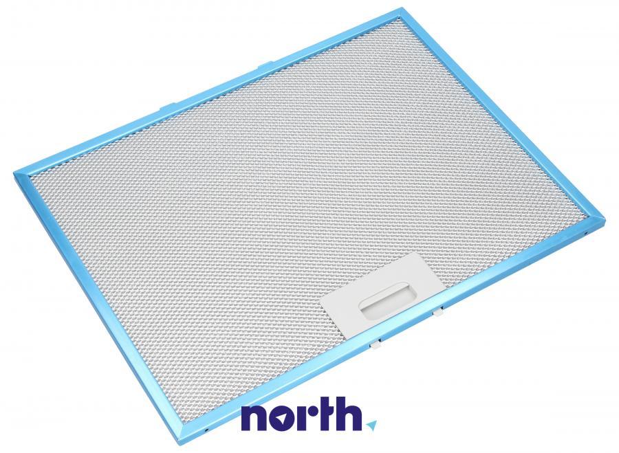 Filtr przeciwtłuszczowy metalowy (aluminiowy) do okapu Whirlpool 482000092088,0