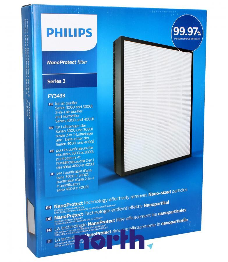 Filtr HEPA do oczyszczacza powietrza Philips FY3433/10 996510075473,0