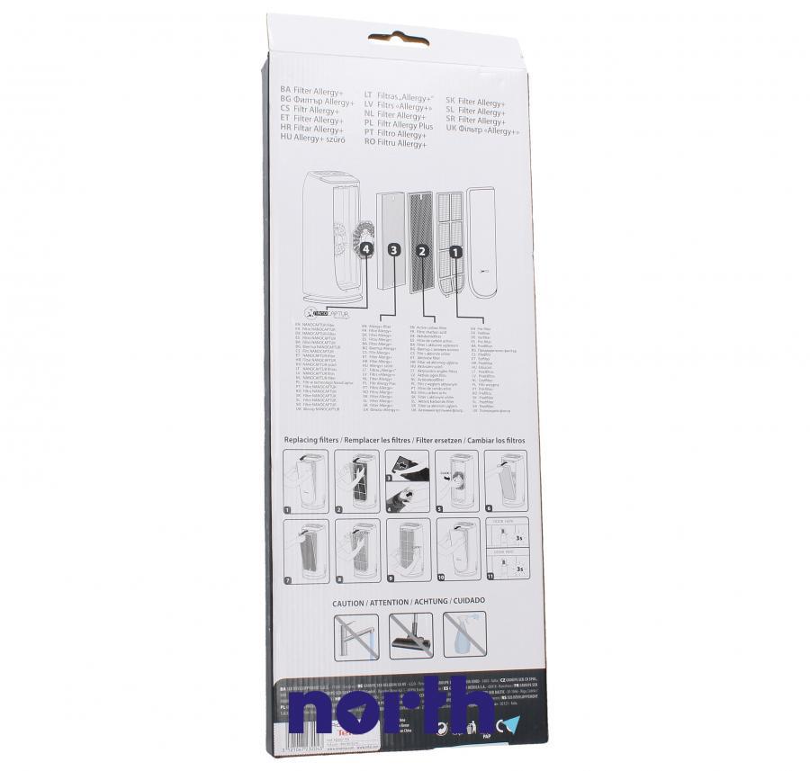 Filtr HEPA do oczyszczacza powietrza Rowenta XD6077F0,1
