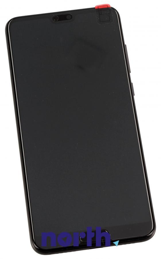 Panel dotykowy z wyświetlaczem, obudową i baterią do smartfona Huawei 02351WQK,0