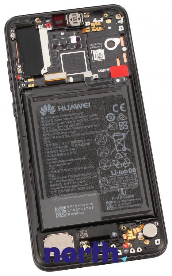 Panel dotykowy z wyświetlaczem, obudową i baterią do smartfona Huawei 02351WQK,1