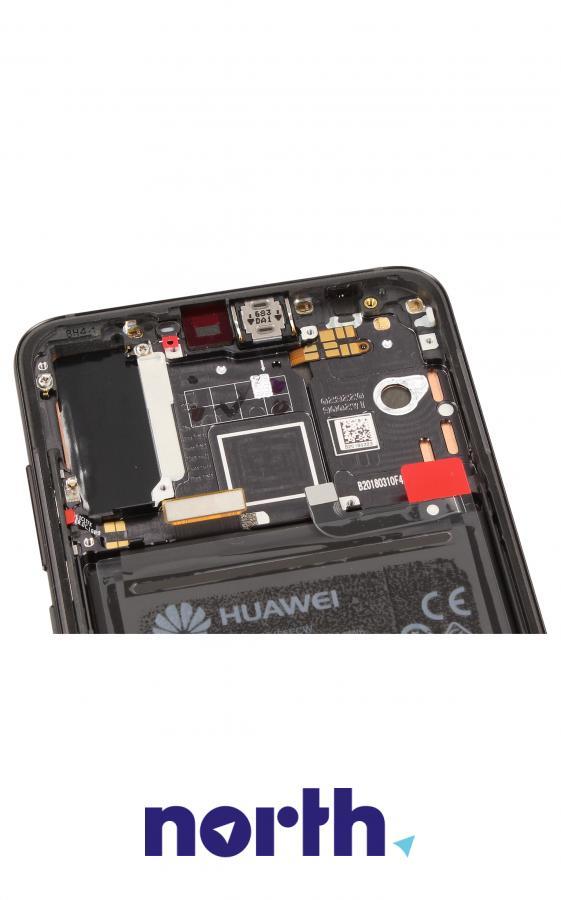 Panel dotykowy z wyświetlaczem, obudową i baterią do smartfona Huawei 02351WQK,2