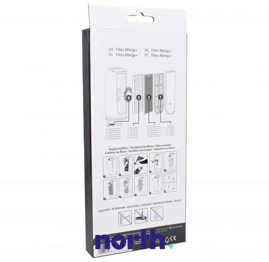 Filtr HEPA do oczyszczacza powietrza Rowenta XD6074F0,1
