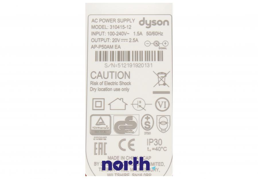 Zasilacz do oczyszczacza powietrza Dyson 96915512,4