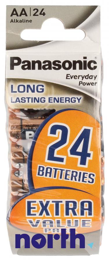 Bateria alkaliczna AA Panasonic (24szt.),0