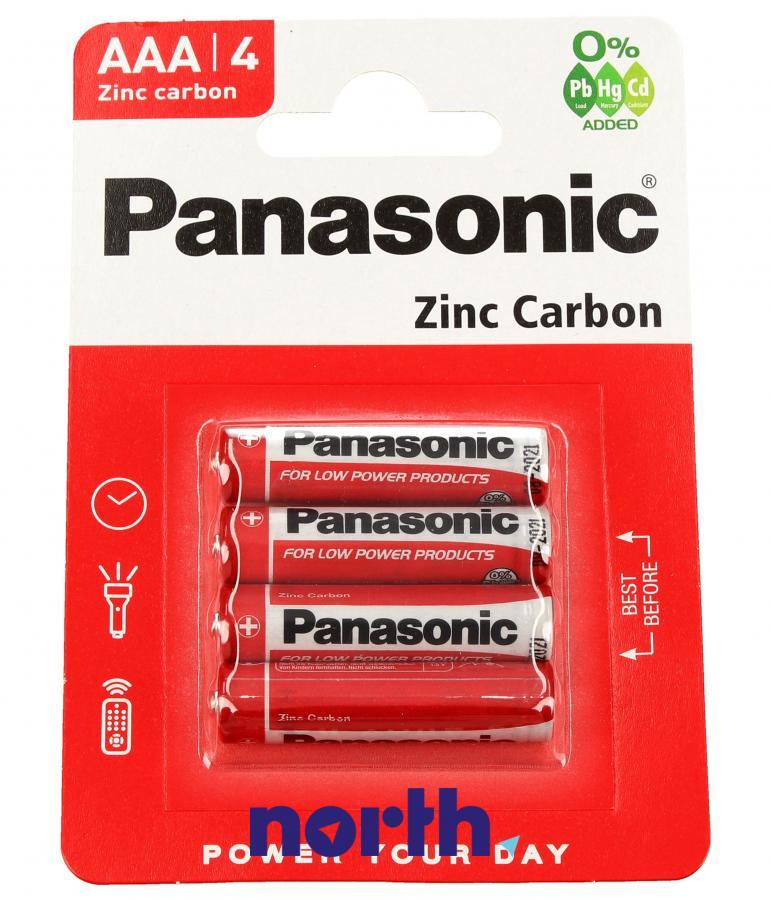 Bateria cynkowa AAA Panasonic,0