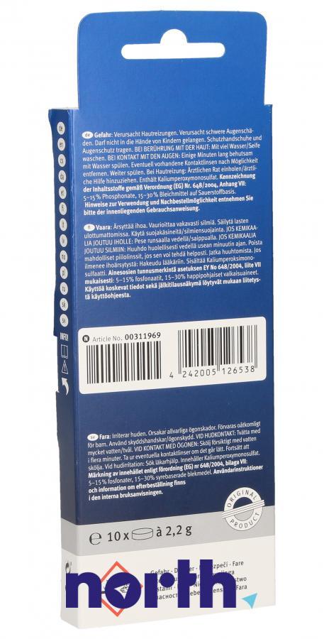 Tabletki czyszczące do ekspresu Siemens TZ60001 00311969,1