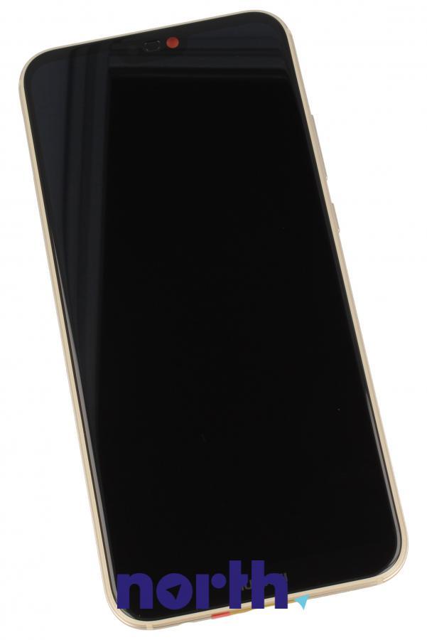 Panel dotykowy z wyświetlaczem, obudową i baterią do smartfona HUAWEI 02351WRN,0