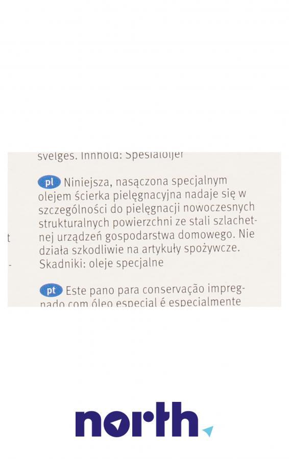 Ściereczki do stali nierdzewnej i inox Bosch 00311944 5szt.,3