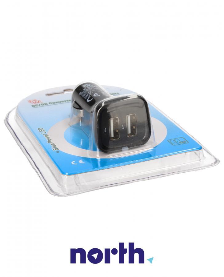 Ładowarka samochodowa bez kabla z 2 gniazdami USB do smartfona Dyson MWDU234,1