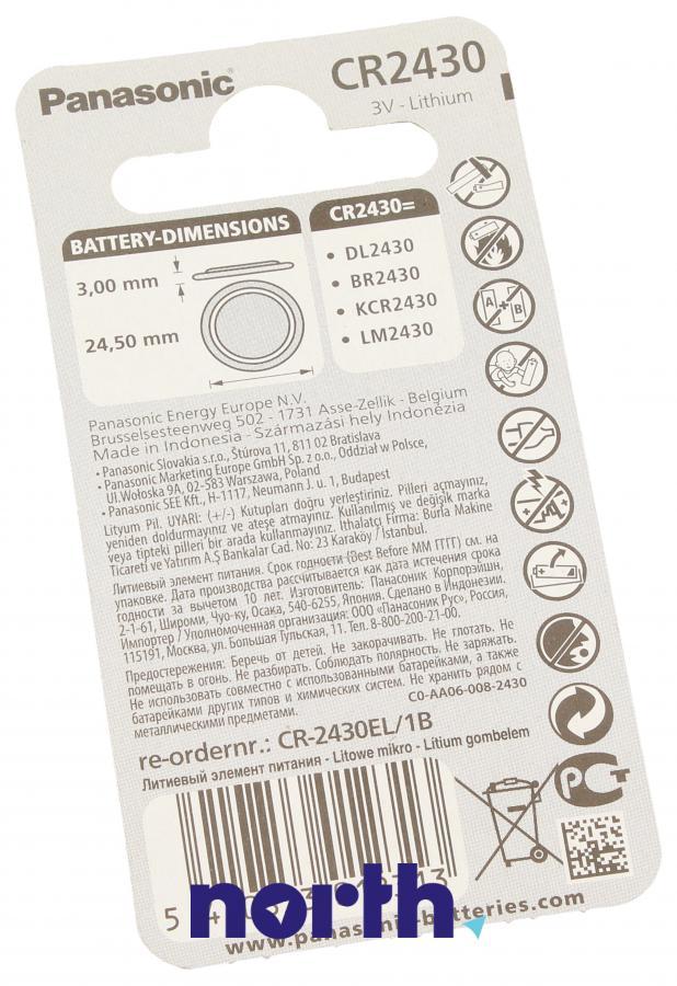 Bateria litowa 3V 280mAh Panasonic,1