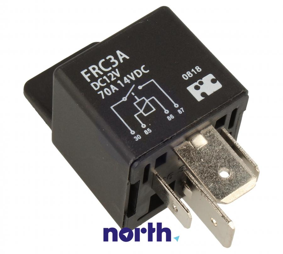 FRC3ADC12V 12VDC70A75VDC Przekaźnik 1-sekcyjny KFZ,0
