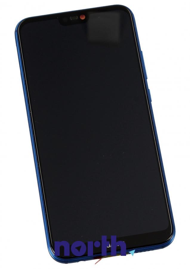 Panel dotykowy z wyświetlaczem, obudową i baterią do smartfona HUAWEI 02351XUA,0